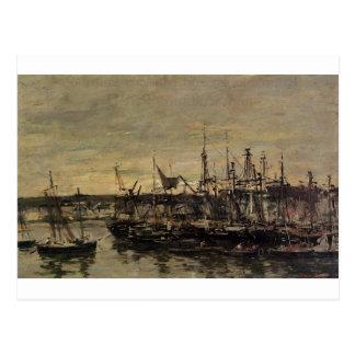 Le port Portrieux par Eugene Boudin Cartes Postales