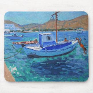 Le port Tinos 2012 Tapis De Souris