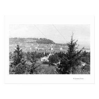 Le port Townsend, canalisation de vue de WA Cartes Postales