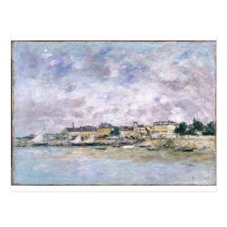 Le port, Trouville par Eugene Boudin Carte Postale