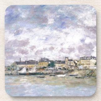 Le port, Trouville par Eugene Boudin Sous-bocks