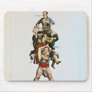 Le portier ou, la charge imposante, c.1820 tapis de souris