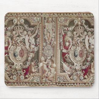 Le Portiere du célèbre, atelier de gobelins Tapis De Souris