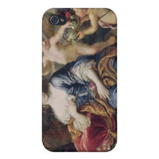 Le portrait a présumé d'être Francoise-Athenais Coques iPhone 4/4S