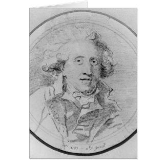 Le portrait a présumé d'être Jean-Honore Fragonard Cartes