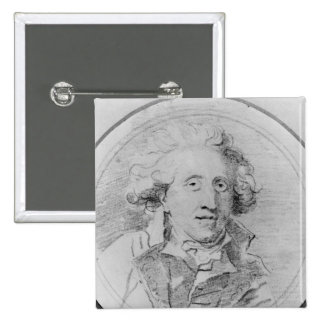 Le portrait a présumé d'être Jean-Honore Fragonard Pin's