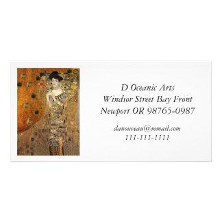 Le portrait Adele Bloch-Bauer de Klimt Modèle Pour Photocarte