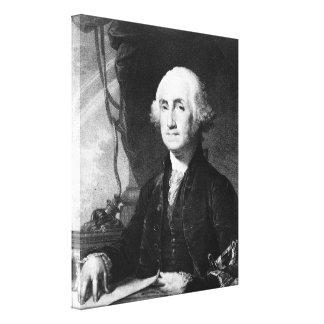 """Le """"portrait de George Washington"""" a enveloppé la  Impressions Sur Toile"""