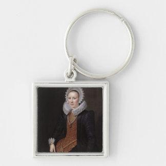 Le portrait de Madame a vieilli 29, 1615 Porte-clé Carré Argenté