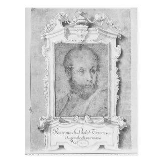 Le portrait d'un homme a présumé d'être Veronese Carte Postale
