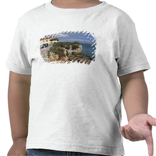 Le Portugal, Cascais. Praia DA Rainha, une plage T-shirt