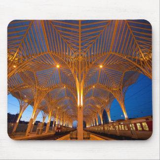 Le Portugal, Lisbonne. Vue de station moderne Tapis De Souris