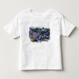 Le Portugal, Obidos. Vue élevée de blanchir T-shirt Pour Les Tous Petits
