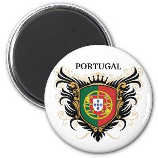 Le Portugal [personnalisez] Magnet Rond 8 Cm