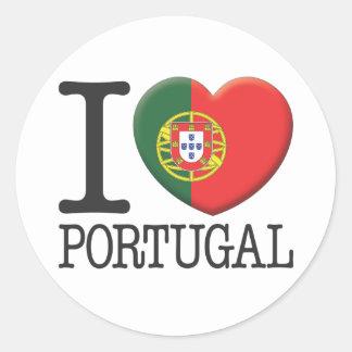 Le Portugal Sticker Rond