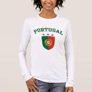 Le Portugal T-shirt À Manches Longues