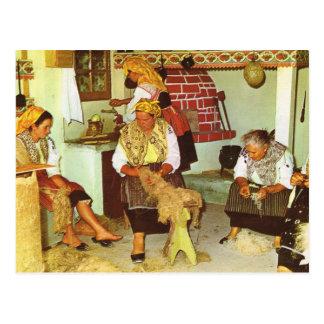 Le Portugal vintage, rotation de dames Cartes Postales