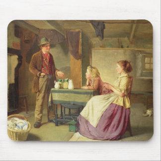 Le potier, 1876 (huile sur la toile) tapis de souris