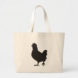 le poulet est le nouveau noir grand sac