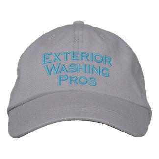 Le pour de lavage extérieur casquette brodée