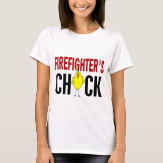 Le poussin du sapeur-pompier t-shirt