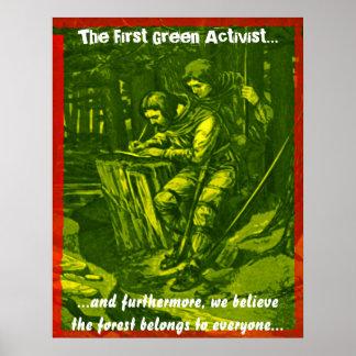 Le premier activiste vert… posters