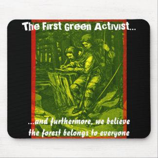 Le premier activiste vert… tapis de souris