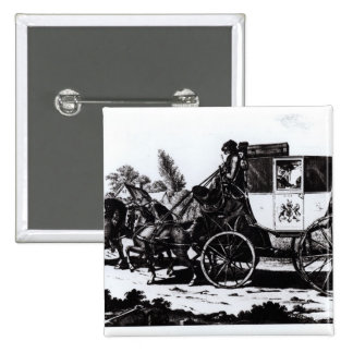 Le premier car de courrier, 1784 badges