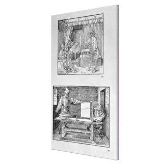 Le premier livre technique de l'artiste toiles