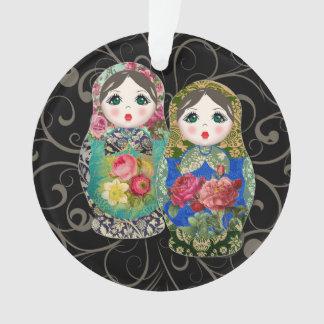 Le premier ornement de poupées du bébé russe de