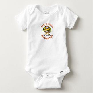 Le premier thanksgiving du bébé t-shirts