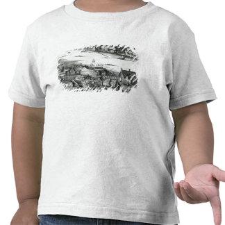 Le premier théâtre de globe ou théâtre rose t-shirt