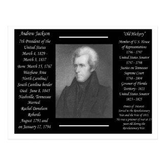 Le Président Andrew Jackson Cartes Postales
