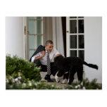 Le Président Barack Obama avec la BO Carte Postale