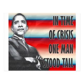 Le Président Barack Obama Carte Postale