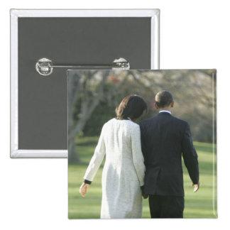 Le Président Barack Obama et première Madame Miche Badges