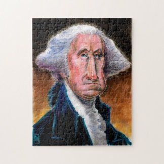 Le Président Caricature Puzzle : George Washington