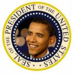 Le Président commémoratif Obama Inauguration Découpages En Acrylique