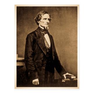 Le Président du sud Jefferson Davis Cartes Postales