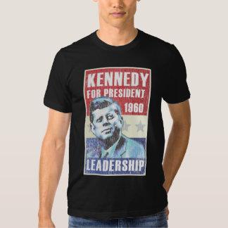 Le Président historique Campaign Poster de John F. T-shirts