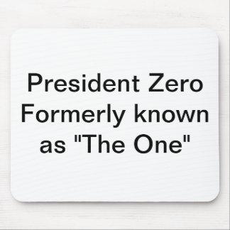 Le Président mettent à zéro autrefois connu en tan Tapis De Souris