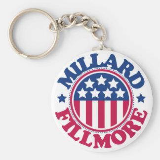 Le Président Millard Fillmore des USA Porte-clé Rond