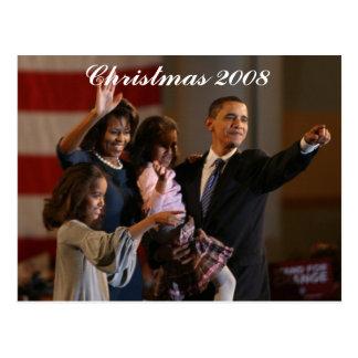 Le Président Obama First Family Keepsake Cartes Postales