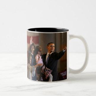 Le Président Obama First Family Keepsake Mug Bicolore