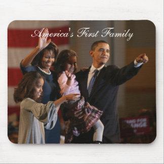 Le Président Obama First Family Keepsakes Tapis De Souris