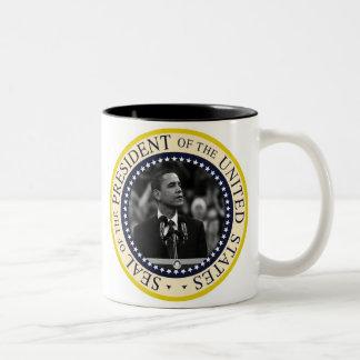 Le Président Obama Inauguration Keepsake Mug Bicolore