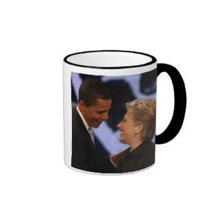 Le Président Obama Inauguration Keepsake Mug Ringer