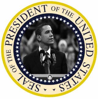 Le Président Obama Inauguration Keepsake Photo Sculpture