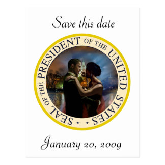 Le Président Obama Inauguration Keepsakes Cartes Postales