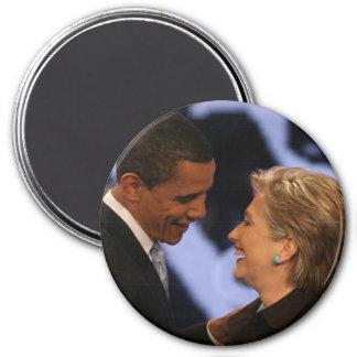 Le Président Obama Inauguration Keepsakes Colossal Magnet Rond 7,50 Cm